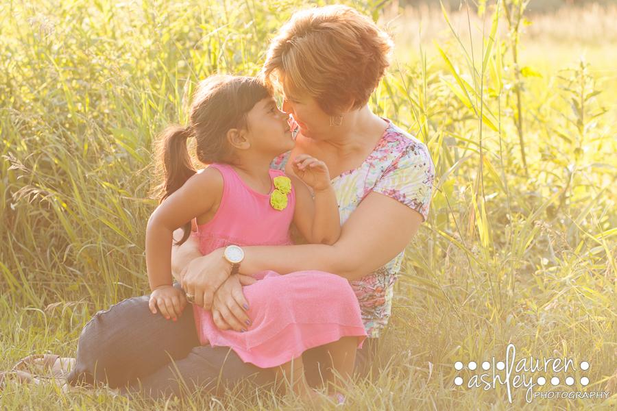 Outdoor Photographer in Cedar Rapids | 4 Year Old Photo Shoot