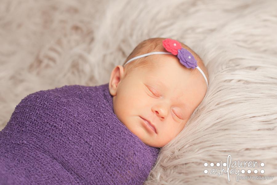 Newborn Baby Girl Photography | Cedar Rapids, IA Photographer