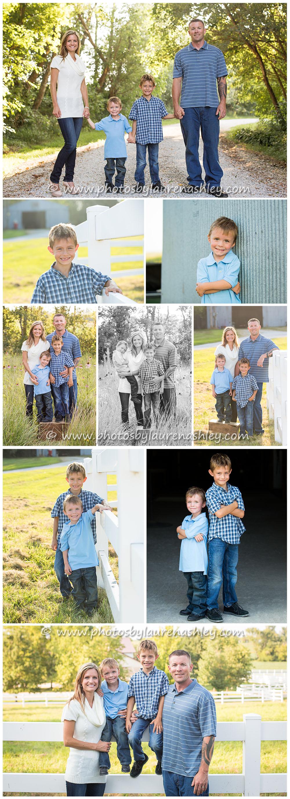 Family photography blog board