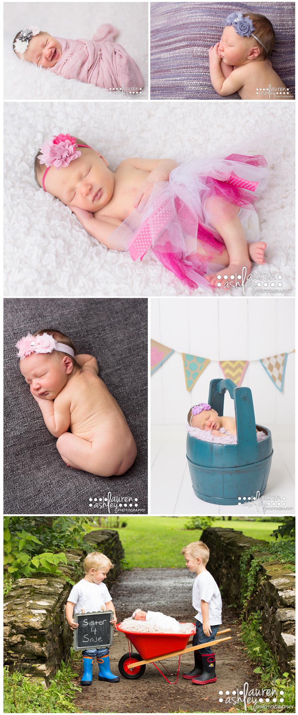 Cedar Rapids, IA Newborn Girl Photographer
